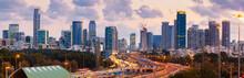 Panorama Of Tel Aviv Skyline C...