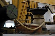 Details Of Ancient Sailing Boa...