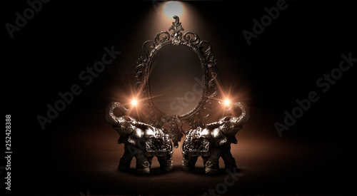 Mirror magical, fortune tel...