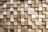 Square wood abstract background