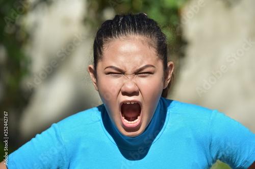Fotografie, Obraz  Mad Pretty Minority Person