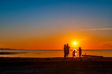 Sunset Family Gathering