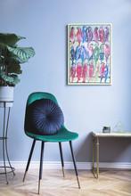 Grey Luxury Interior With Gree...