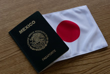 Mexican Passport And Japanese ...