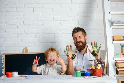 Valokuva  Happy family