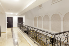 Wrought Iron In The Hallway