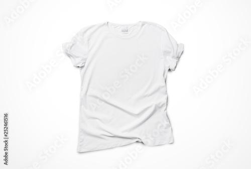 Obraz White t-shirt mockup - fototapety do salonu