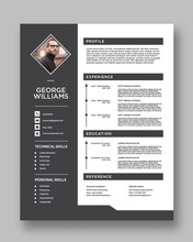 Clean Resume Templates