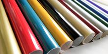 Group Of Vinyl Sticker Rolls