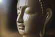 Textured Buddha and blurry background