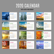 Desk Calendar Template For 202...