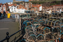 Stacked Fishing Creels, Whitby...