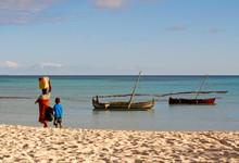 Malagasy Traditional Boat, Nosy Be Island, Madagascar