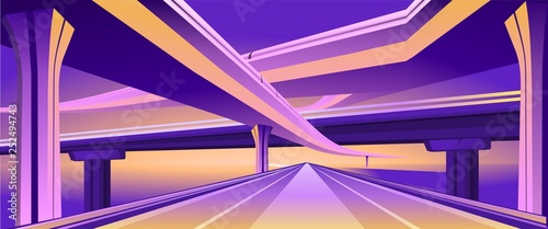 Fotografia overpass viaduct bridge