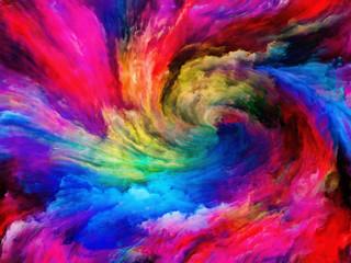 Fototapeta Abstrakcja Exploding Paint