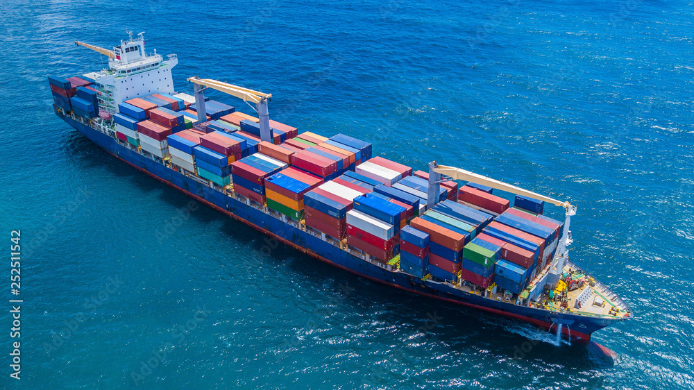 Fototapety, obrazy: Container Ship Vessel