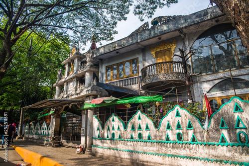 Foto op Aluminium Guilin Arquitetura das construções em Yangon, Myanmar.