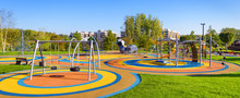 Panorama Of Colorful Large Pla...