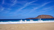 Canary Islands, Scenic La Graciosa Island shores and landscapes