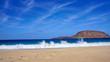 Canary Islands, Scenic La Graciosa Island shores and landscapes