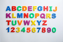 Plastic Magnetic Letters And N...