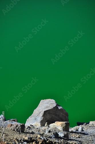 Foto op Plexiglas Groene Tongariro Hike