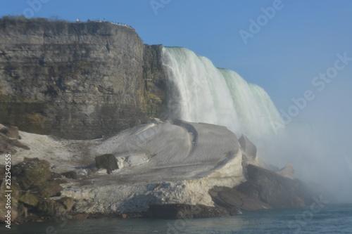 In de dag Kust Niagara Falls Canada