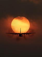 Portrait Of Transport Aircraft...