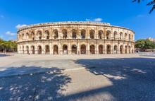 Les Arènes De Nîmes, Gard, France
