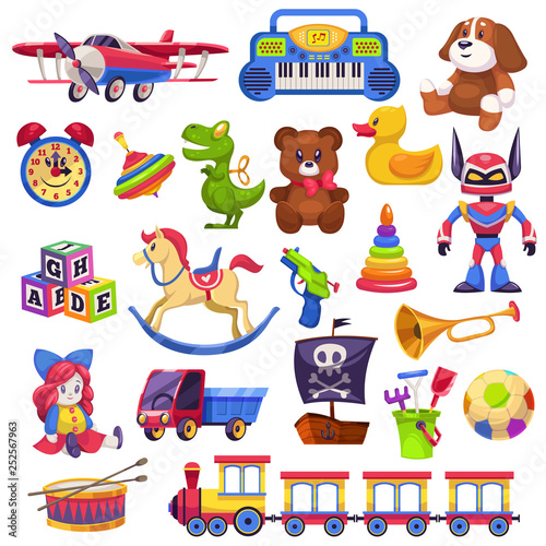 Kids toys set Canvas-taulu