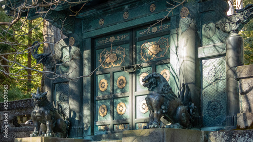 Fototapeta  Inukimon Gate by Inner Shrine at Toshogu Shrine, Nikko, Japan.