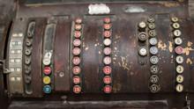 Retro Vintage Cash Register Wi...