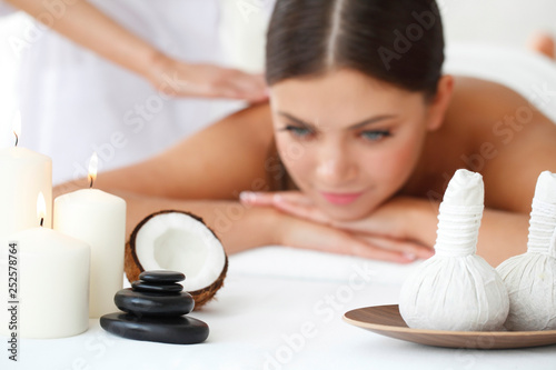 Fotografie, Obraz  Woman getting spa massage
