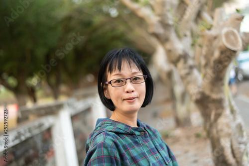 Fotografia  portrait of Asian mature woman