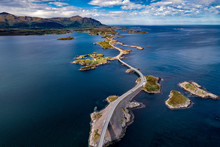 Atlantic Ocean Road Aerial Pho...