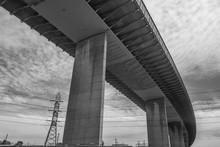 Under The Westgate Bridge, Melbourne