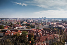 View Of Prague From The Hradcany Hill, Czech Republic