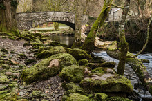 Pelter Bridge In Rydal, Englis...