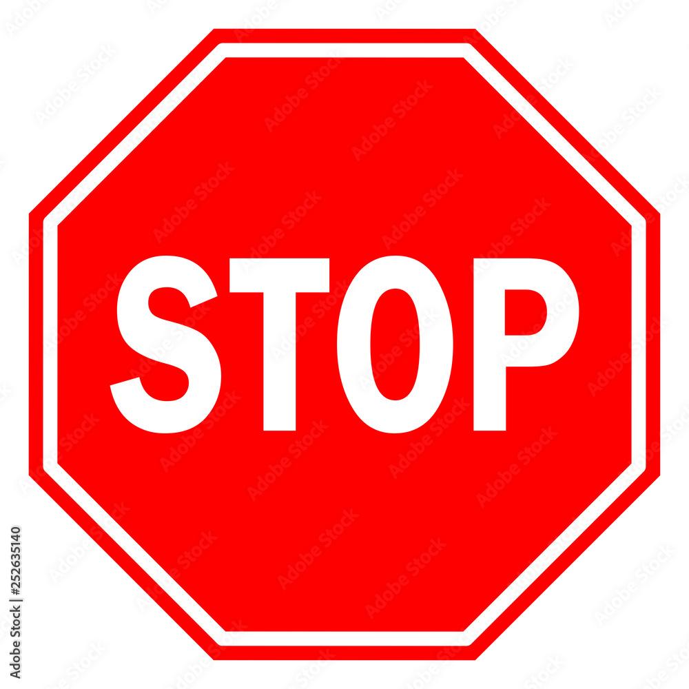 Fototapety, obrazy: Stop sign