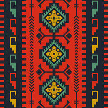 Ethnic Seamless Pattern. Triba...