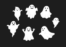 Set Of Cute Ghost Creation Kit...