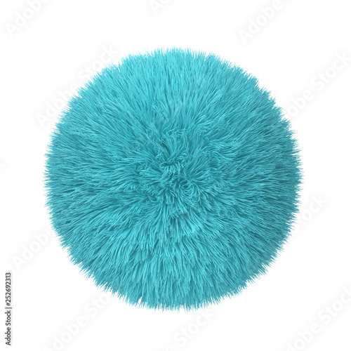 Fotomural Abstract fluffy ball