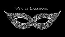 Carnival Venetian Mask Ornamen...