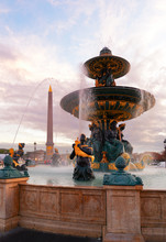 Fountain On Concorde Square An...
