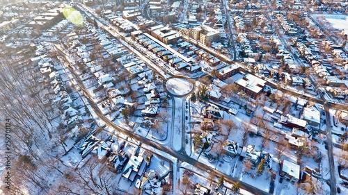 Fotografia, Obraz  Aerial Phallic Cul-De-Sac, Midtown Toronto