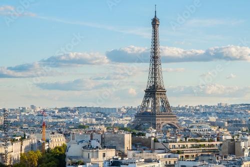 Poster Tour Eiffel eiffel tour and Paris cityscape