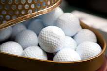 Collection Of Golf Balls