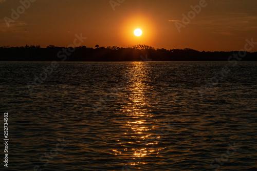Sunset New Smyrna Beach, Florida