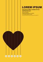 Music Poster Graphic Design Te...