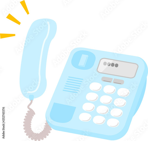 Obraz 受話器を外した電話機 - fototapety do salonu